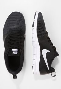 Nike Performance - WMNS NIKE FLEX ESSENTIAL TR - Obuwie treningowe - black/anthracite/white - 1