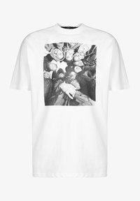 Chi Modu - Print T-shirt - white/black - 0
