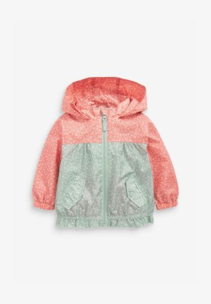 DITSY CAGOULE - Parka - green, light red