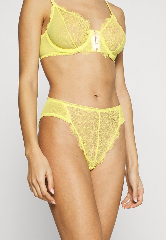 SHELBY HIGH WAIST BRIEF - Figi - sorbet
