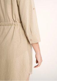 comma casual identity - Button-down blouse - sand - 5