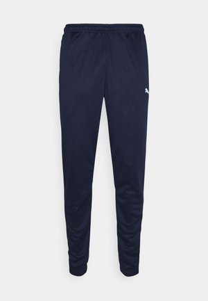 TEAMRISE TRAINING PANTS - Tracksuit bottoms - peacoat/white