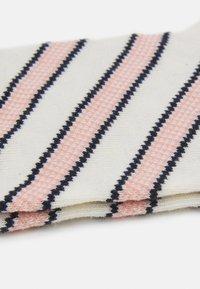 Dear Denier - INGRID SLANTS - Socks - rose/offwhite - 1