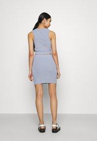 Bec & Bridge - MIMI MINI SKIRT - Mini skirt - silver blue - 2