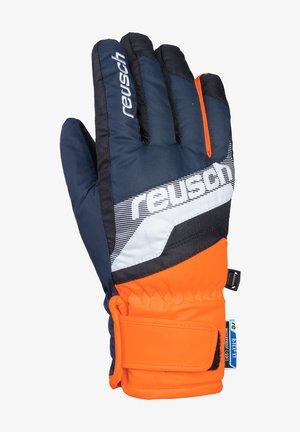 DARIO R-TEX® XT  - Gloves - dres blu/white/shoc orang