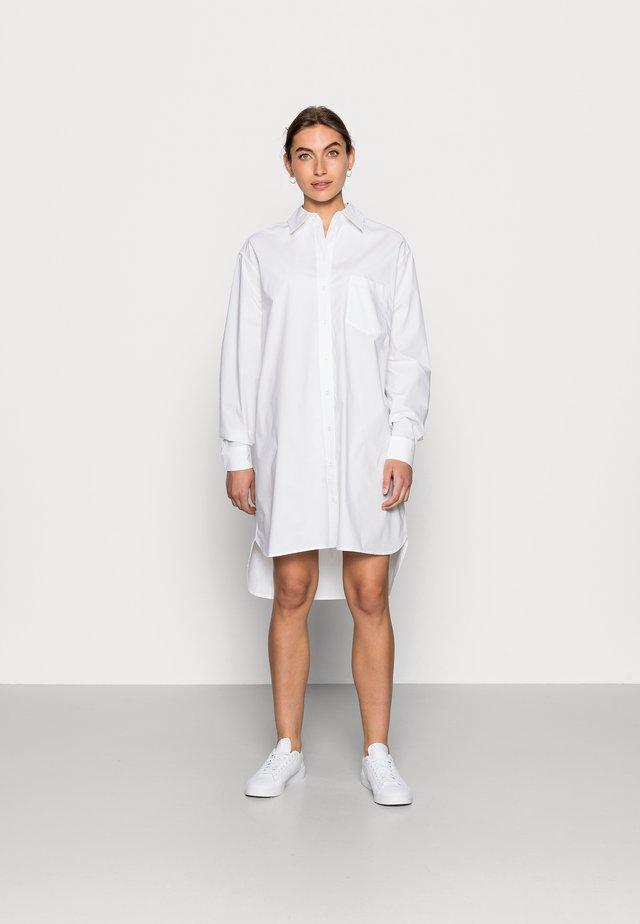ARDA - Skjortekjole - white