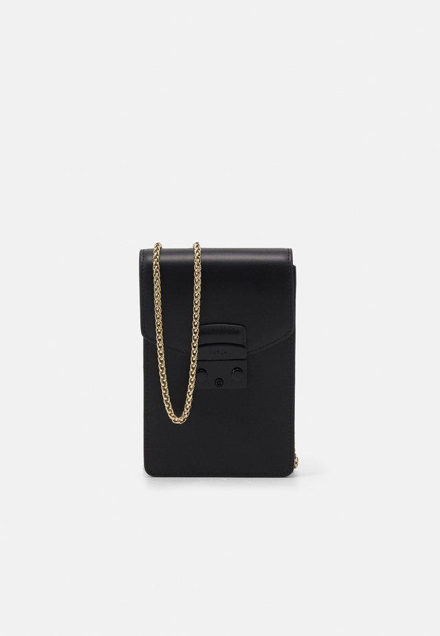 METROPOLIS MINI VERTICAL CROSSBODY - Schoudertas - nero