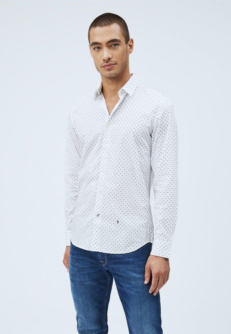 Pepe Jeans - EDMONTON - Skjorta - blanco