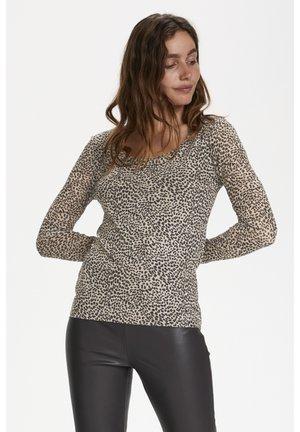 Blouse - mini leopard dot