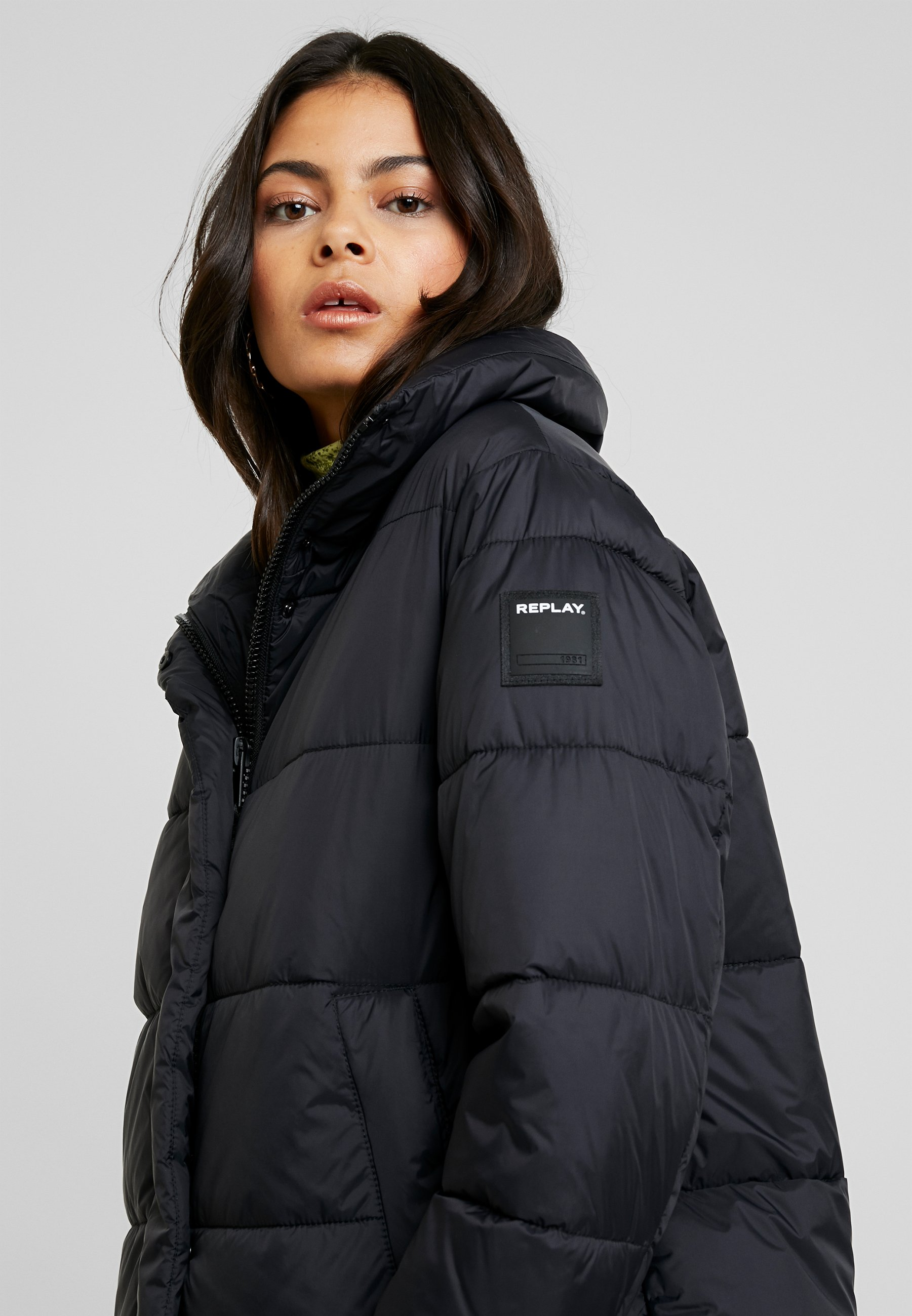 JACKET Winterjas black
