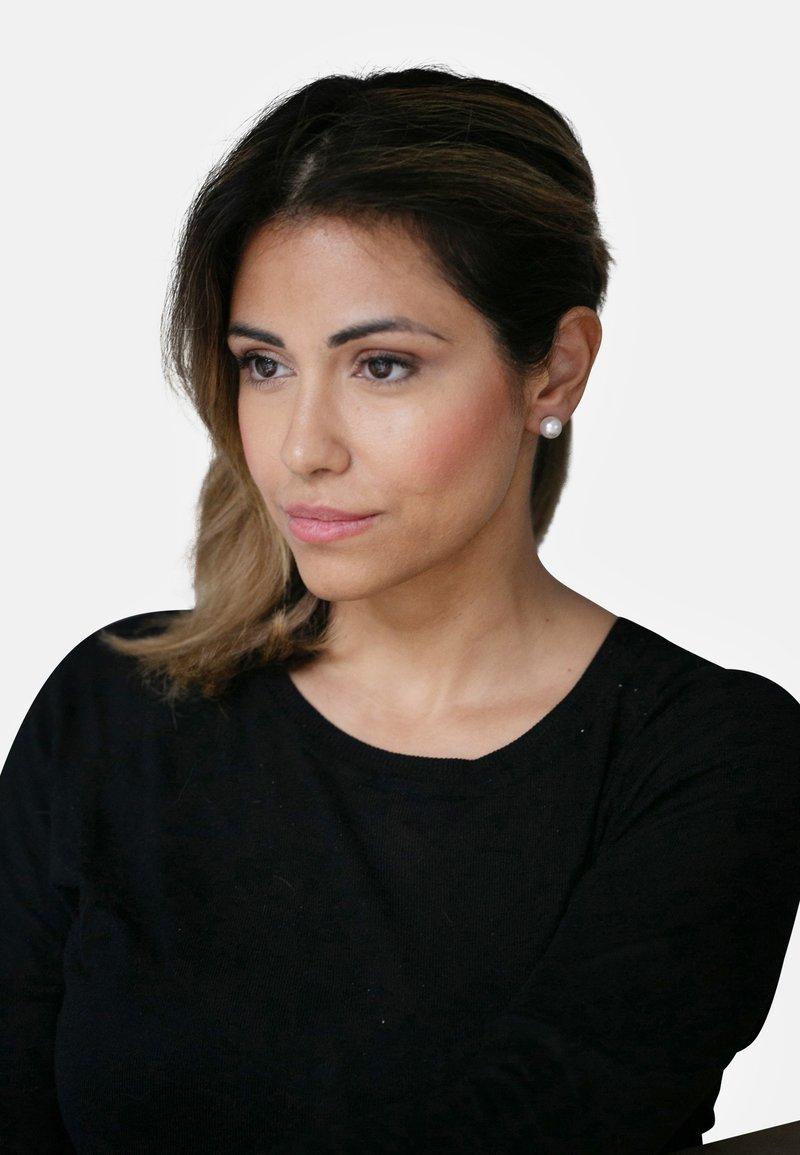 Heideman - MIT PERLE - Earrings - white