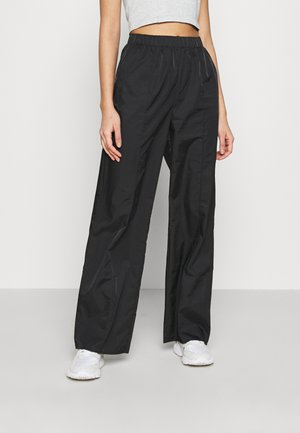 STRAIGHT LEG TROUSERS - Bukser - black