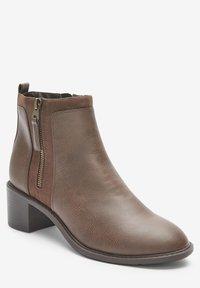 Next - FOREVER COMFORT® CHUNKY - Korte laarzen - brown - 1