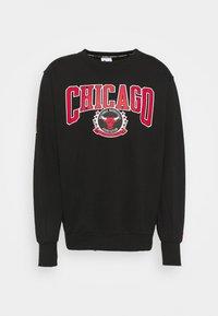 NBA CHICAGO BULLS CREWNECK - Club wear - black/white/university red