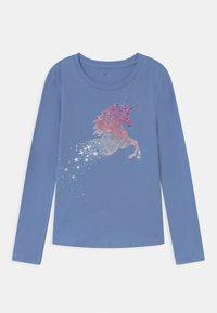 GAP - GIRL - Maglietta a manica lunga - bright hyacinth - 0