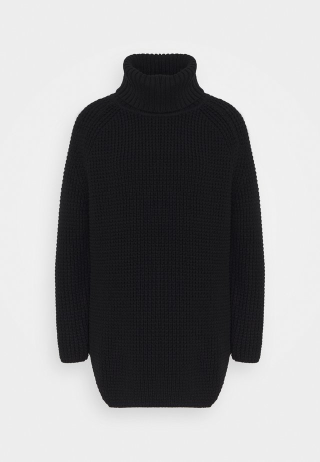 LONG SLEEVE TURTLENECK - Pullover - black