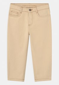 TINYCOTTONS - UNISEX - Relaxed fit jeans - light cream - 0