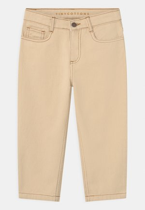 UNISEX - Relaxed fit jeans - light cream