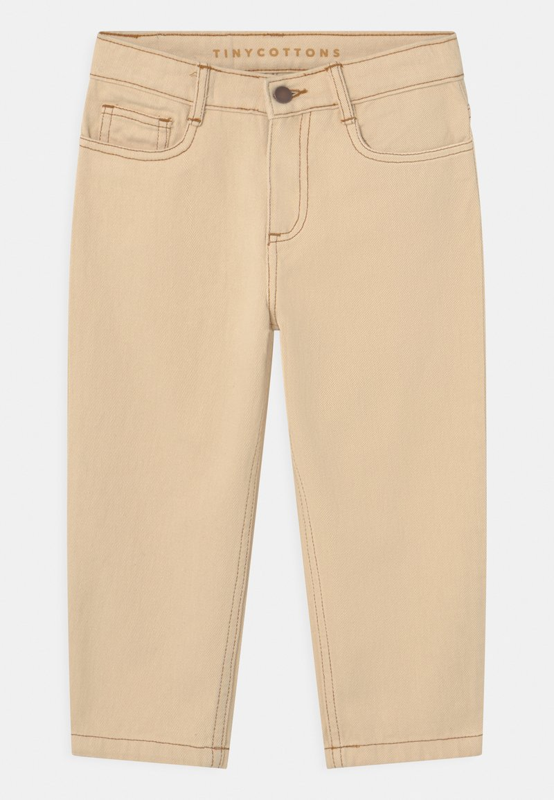 TINYCOTTONS - UNISEX - Relaxed fit jeans - light cream