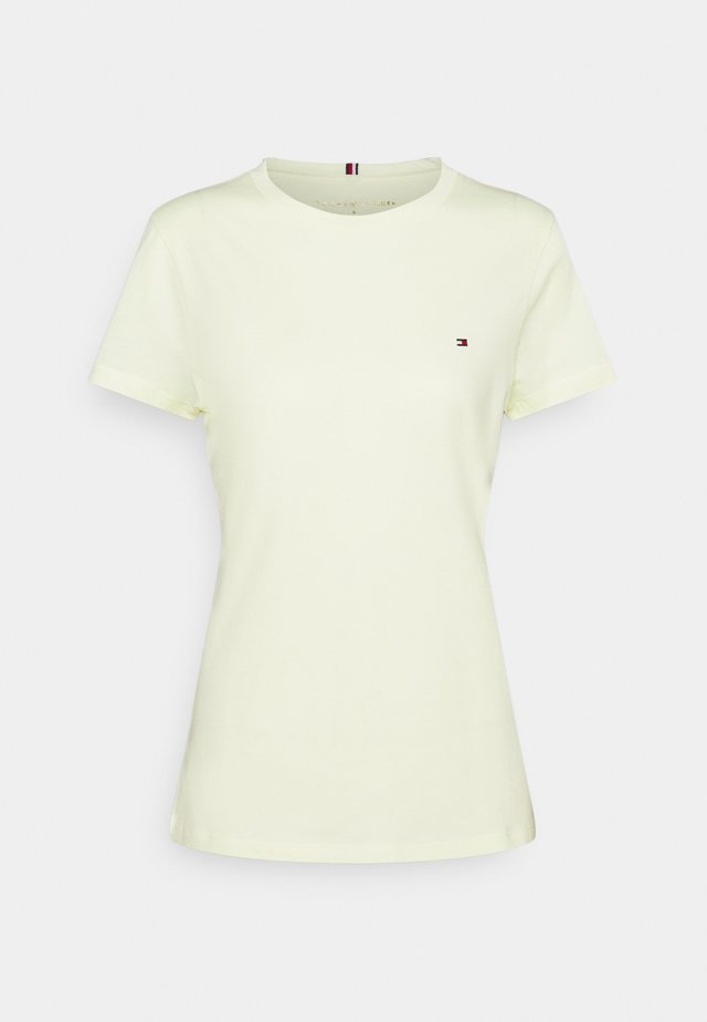 NEW CREW NECK TEE - T-shirts basic - frosted lemon