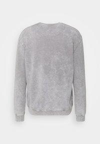 Common Kollectiv - WASHED TRACKSUIT - Zip-up sweatshirt - grey - 1
