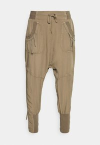 Cream - NANNA PANTS - Trousers - timber wolf - 3