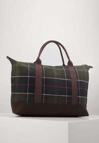 Barbour - ELGIN HOLDALL - Tote bag - multi-coloured/green - 2