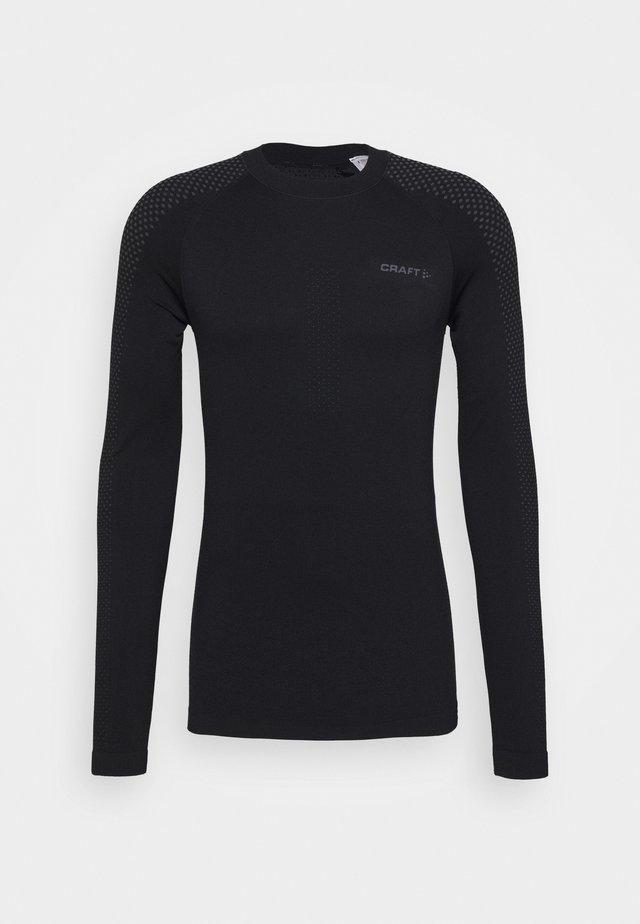 WARM INTENSITY - Long sleeved top - black