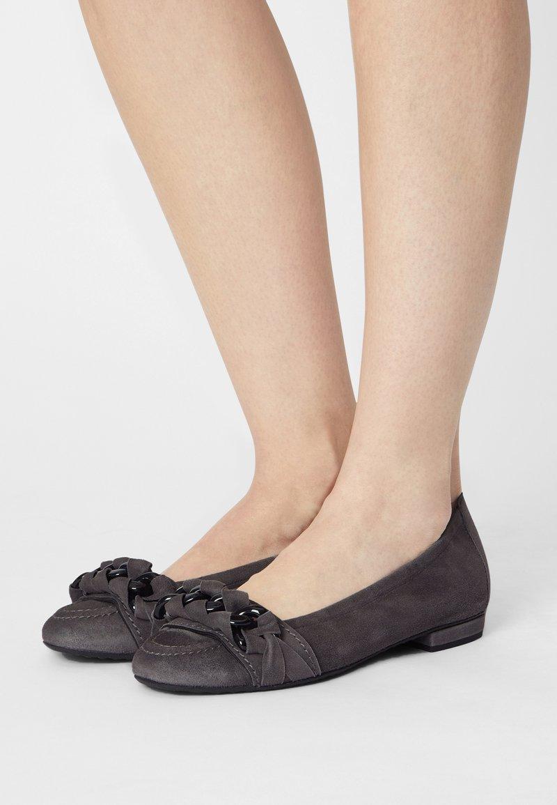 Kennel + Schmenger - MALU - Ballet pumps - antracite/black