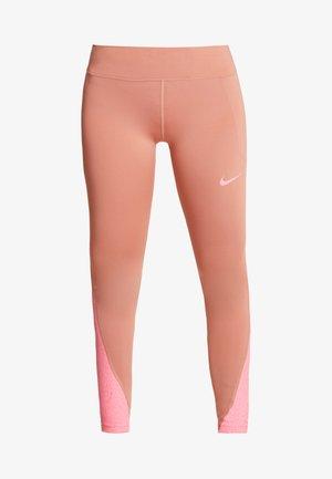 FAST RUNWAY - Leggings - terra blush/digital pink