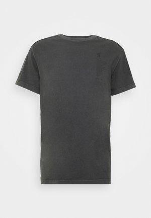 KORPAZ LOGOS GR ROUND SHORT SLEEVE - T-shirt con stampa - light shadow