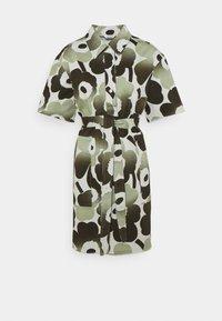 Marimekko - HEINIKKÖ PIENI UNIKKO DRESS - Shirt dress - green/dark green - 5
