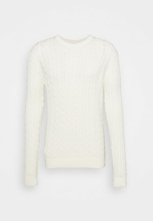 EMILIO CABLE KNIT - Jumper - ecru