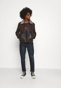 Serge Pariente - NEW PILOT - Leather jacket - brown - 1