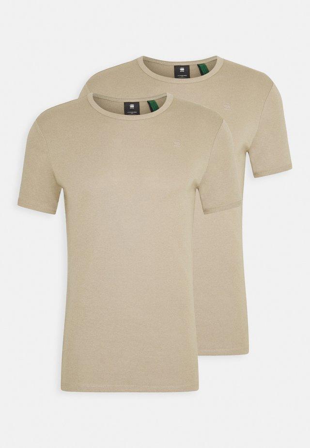 BASE 2 PACK  - Basic T-shirt - rock