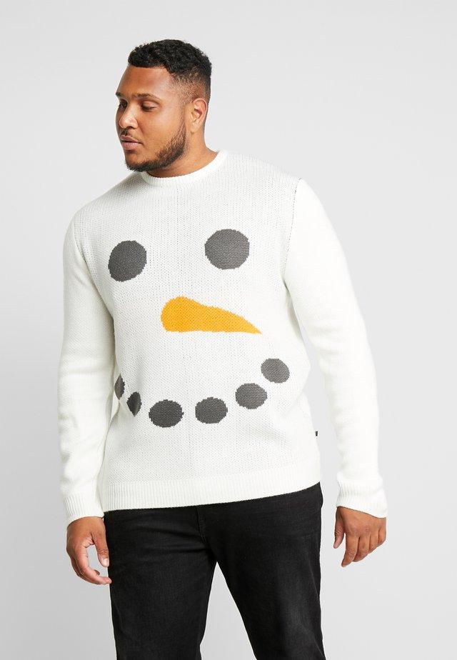 CHRISTMAS HUMOR - Sweter - white
