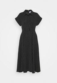 Closet - CLOSET FULL SKIRT SHIRT DRESS - Paitamekko - black - 4