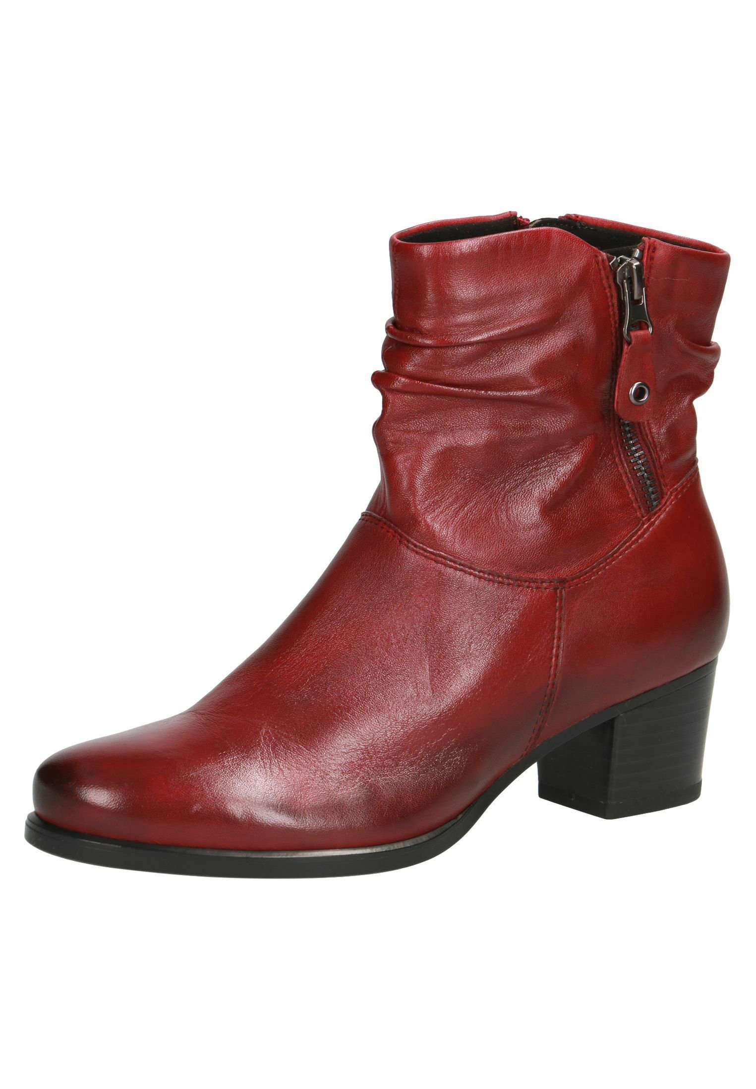 Caprice STIEFELETTE Ankle Boot sangria soft/rot