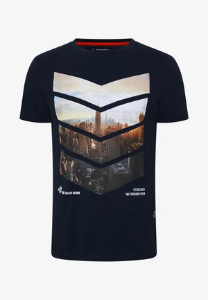 WITH FOTOPRINT - T-shirt med print - sky captain blue