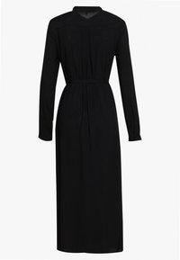Vero Moda - VMSIMPLY EASY LONG DRESS - Shirt dress - black - 1