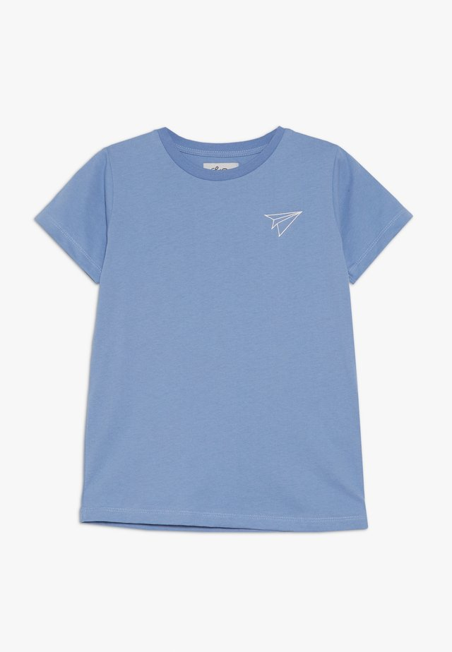 LIL PAPER PLANE SHORT SLEEVE - Basic T-shirt - allure blue