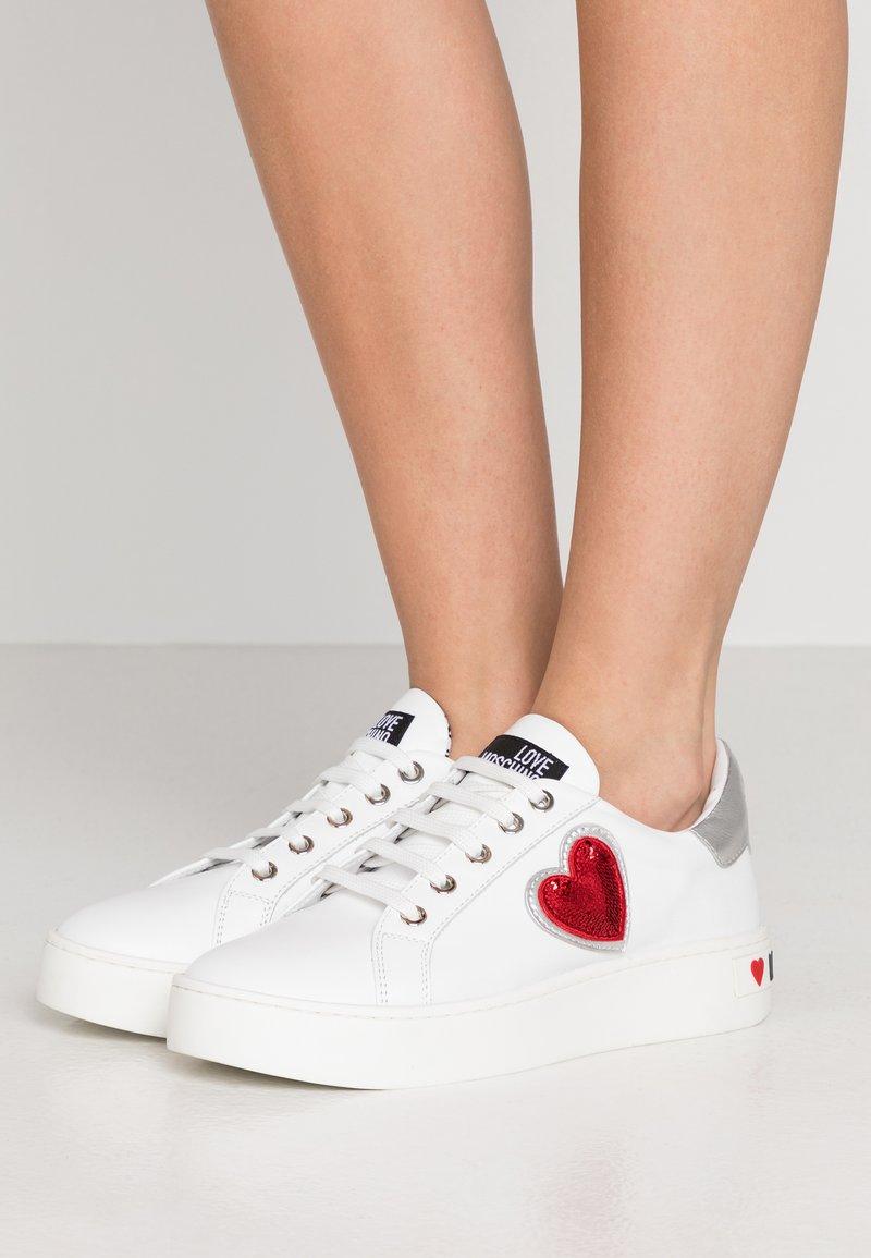 Love Moschino - Sneakers laag - white