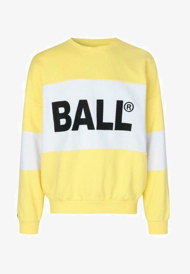 SUMMER CREW NECK - Sweatshirt - yellow sunshine
