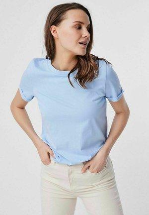 Camiseta básica - cashmere blue