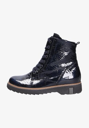 Lace-up ankle boots - notte