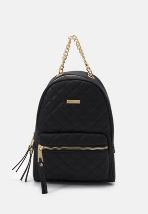 GALILINIA - Rucksack - jet black/gold-coloured