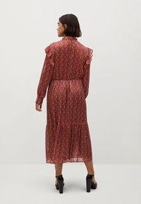 Violeta by Mango - COUNTRY - Day dress - bräunliches orange - 2