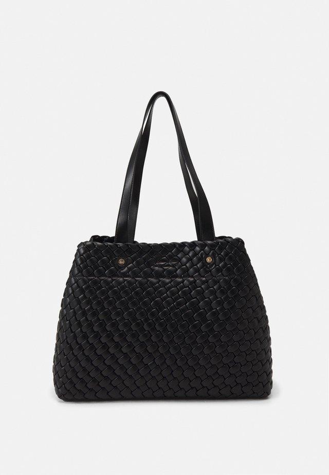 DOVENS - Shopping bag - black