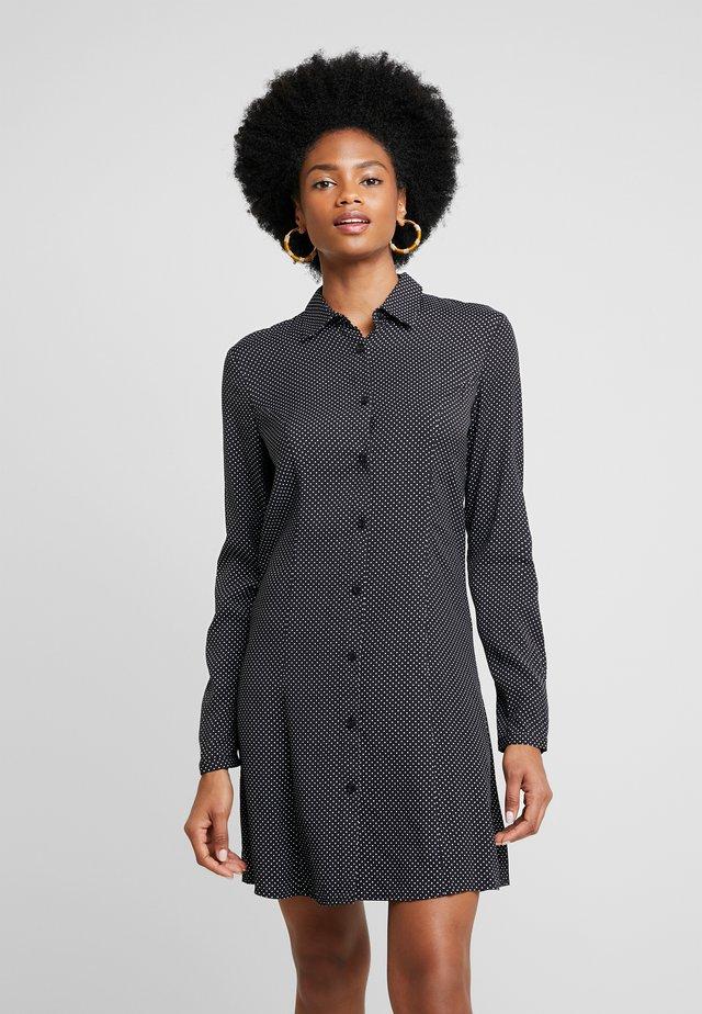 ZETIDO - Shirt dress - black/white
