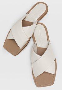 Stradivarius - Sandals - off-white - 3